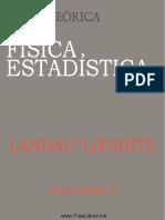 Curso de fisica teorica - Vol 5 - Fisica estadistica.pdf