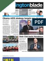 washblade.com – vol. 41, issue 29 – July 16, 2010