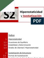 Sesion N°2 Hiperestaticidad e Isost