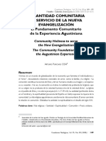 Arturo Purcaro - El fundamento comunitario de la experiencia agustiniana.pdf