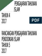 Cover Rpt Pendidikan Islam Sesi 2016