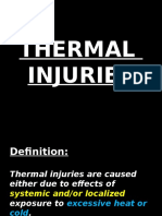Thermal Injuries- Introduction