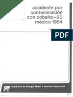 Accidente Radiologico CD Juarez