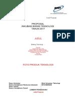 00 Format Draft Proposal Ibt 2017