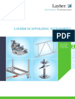 Layher Scaffolding Accessories Catalogue, Ref.no.8103.254, Edition 04.2015
