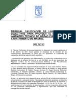 Modificaciones Ing Tec Obraspublicas Ayto Madrid 2010