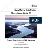 Real May 2015 Tilbury Project Description CEAA Summary