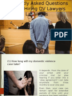 Frequently Asked Questions | Domestic Violence Attorney Las Vegas