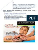 Cancer Immunotherapy - GIOSTAR