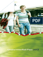 InterRail Pass Guide 2013 Romanian