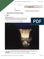 Construction Hoover Dam Denver Post