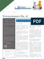 dipeo-Vertriebsbrief Juli 2010