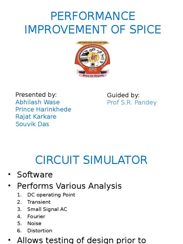 Circuit Simulator Spice Matrix Mathematics Electronic Online Its Good At Simulation