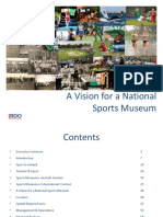 Bdo Report Vision National Sports Museum
