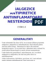 Curs 1 2 Analgezice Antipiretice AINS