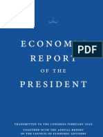 Economic Report of the President - Febraury 2010