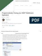 Programmatically Closing Your ABAP WebDynpro Application _ SAP Blogs