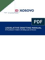 Legislative Drafting Manual