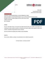 Protección aparcabicis calle Oñati (04/2017)