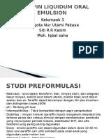 Paraffin Liquidum Oral Emulsion