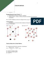 2ª - Teoria Elementar Dos Metais