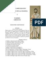 Campenhausen, Hans Von - Los Padres de La Iglesia - Los Padres Griegos