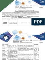 Guía de Actividades y Rúbrica de Evaluación Fase 3- Resolución de Problemas de Balance de Energía