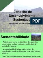 Aula 2 Conceito de Desenvolvimento Sustentável