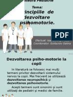 dezvoltarea psihomotorie