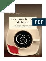 Cele Cinci Limbaje Ale Iubirii Ebook