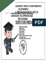 Caratula CARPETA PEDAGOGICA2014 (Autoguardado)
