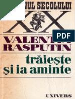 Valentin Rasputin - Traieste si ia aminte pdf.pdf