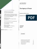 Agony of Power