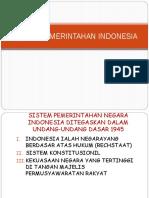 Pancasila Sistem Pemerintahan Indonesia 1