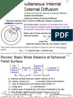 L22 Nonideal Flow & Reactor Design