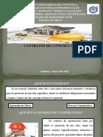 Contratos. Adm de Obras