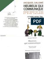Salome, Jacques - Heureux Qui Communique