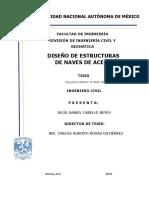 Diseño de Estructuras de Naves de Acero - Tesis (UNAM)