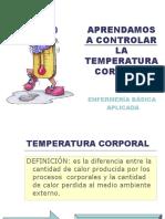 2.- Control de La Temperatura