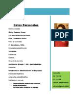 Curriculum Vitae Miri