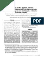 Dias e Rodrigues 2010 - Esquizofrenia, genética, epigenética, uma revisão