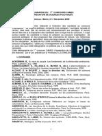 Bibliographie Du Concours Cames d Agregation de Science Politique