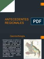 ANTECEDENTES REGIONALES
