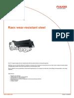 Raex Wear Resistant Steel 31-10-12