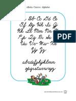Cursive Alphabets