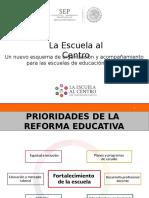 Presentacion La Escuela Al Centro