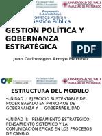 Gestion Politica y Gobernanza Estrategica
