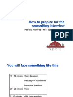 PrepareForConsulting Interviews