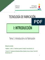01 Introducción a La Fabricación