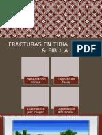Fracturas en Tibia Fibula